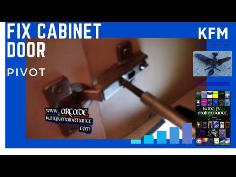 Three Different Ways How To Adjust Cabinet Doors Youtube