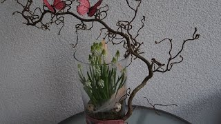 Osterdeko Tutorial - Muscari in der Vase - Osterdekoration selber machen