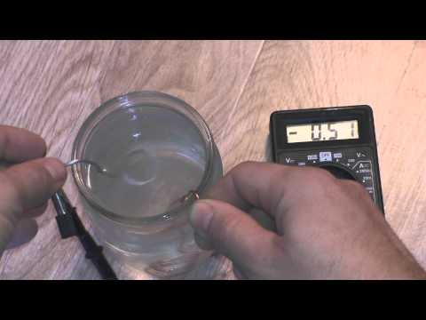 Электричество из воды в домашних условиях