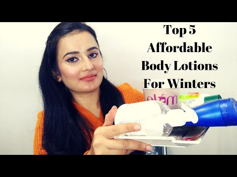 Top 5 Affordable Body Lotions For Winters | #WinterSkincare | Winter Essentials | SWATI BHAMBRA