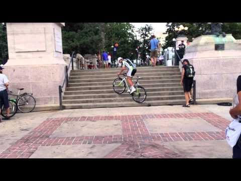 Peter Sagan:The stairs; Down and Up
