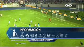 IN GAME : 2  VIDEOSCREENS - UNIVERSITARIO DE DEPORTES - JWINCESAR