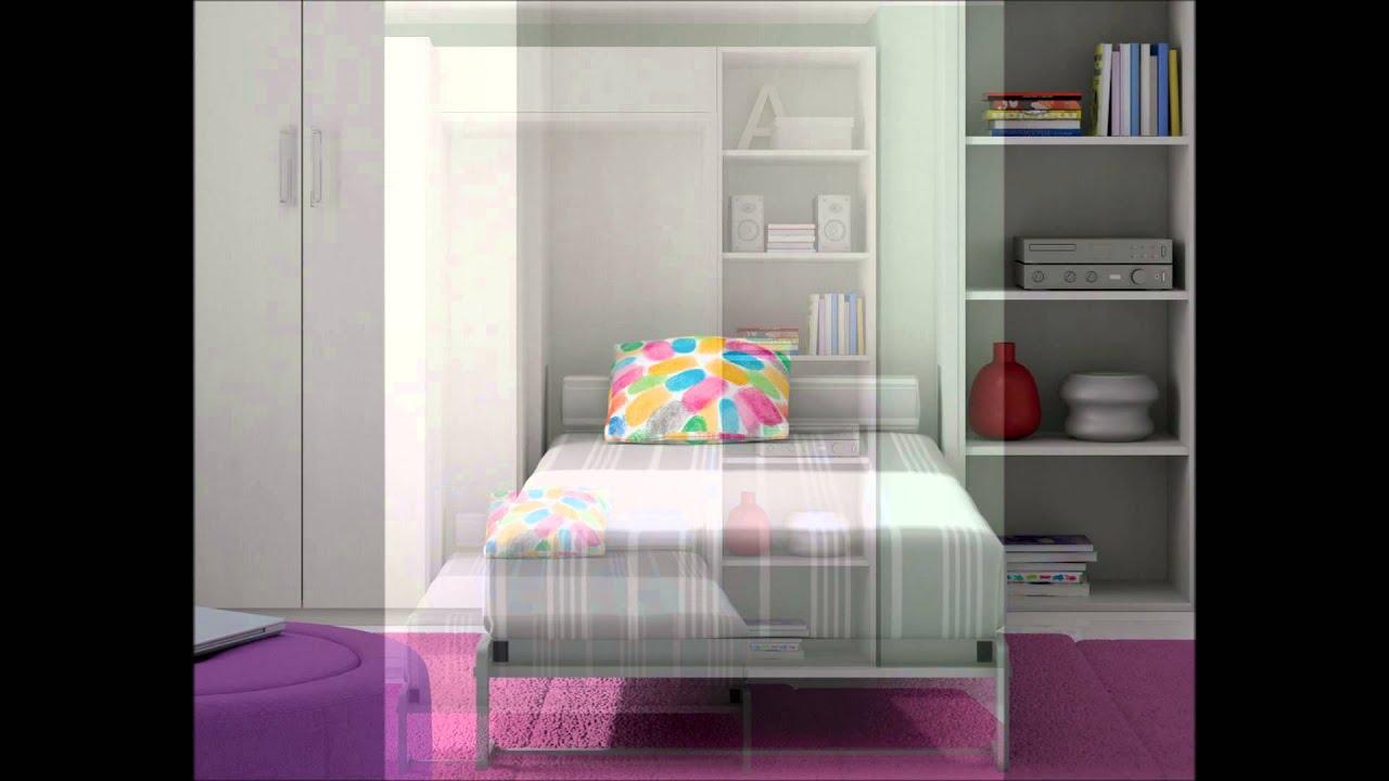 Dormitorio infantil closet de dissery youtube for Dormitorio y closet