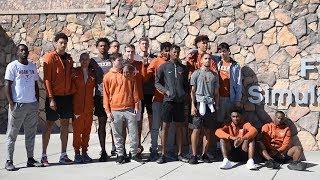 Texas Men's Basketball at Fort Bliss [Nov. 9, 2018]