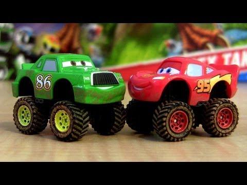 Disney Cars Monster Truck Toys Mcqueen Trucks Car-toys
