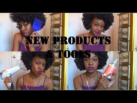 After the Big Chop | NEW Products & Tools + product samples!