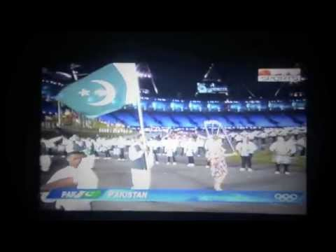 Pakistan in London Olympics 2012