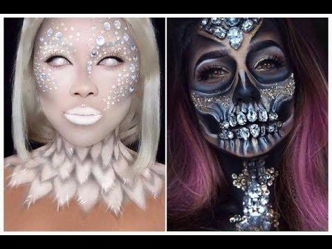 Топ 10 Легких DIY макияжей на Хэллоуин  Halloween DIY Makeup