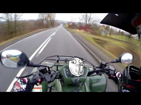 Having Fun with ATV Kymco MXU 500 IRS (GoPro Hero 3+)