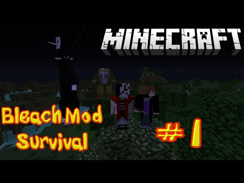 Minecraft Bleach Mod Survival Episode 1 || Becoming A Death God video