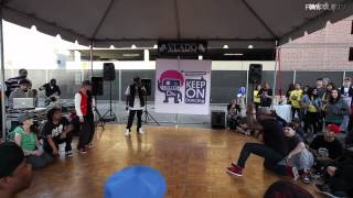 Download Lagu Hip Hop Top 16: __ vs Chozen | KOD USA 2012 | Funk'd Up TV Gratis STAFABAND