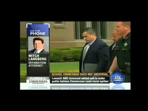 Mitchell Langberg provides analysis on Zimmerman v. NBC defamation suit on CNN