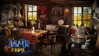 Harry Potter ASMR - the Burrow - Weasley's house - Ambient sound white noise cinemagraphs