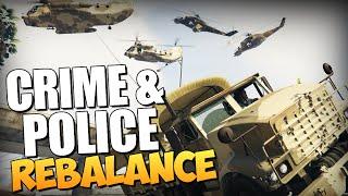 GTA 5 Mods : Crime & Police Rebalance - Обзор