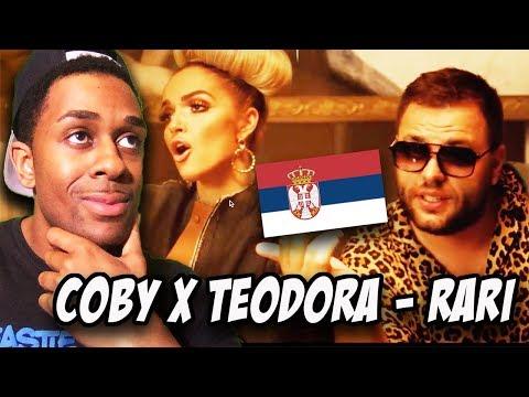 BALKAN MUSIC REACTION |COBY X TEODORA - RARI (OFFICIAL VIDEO)