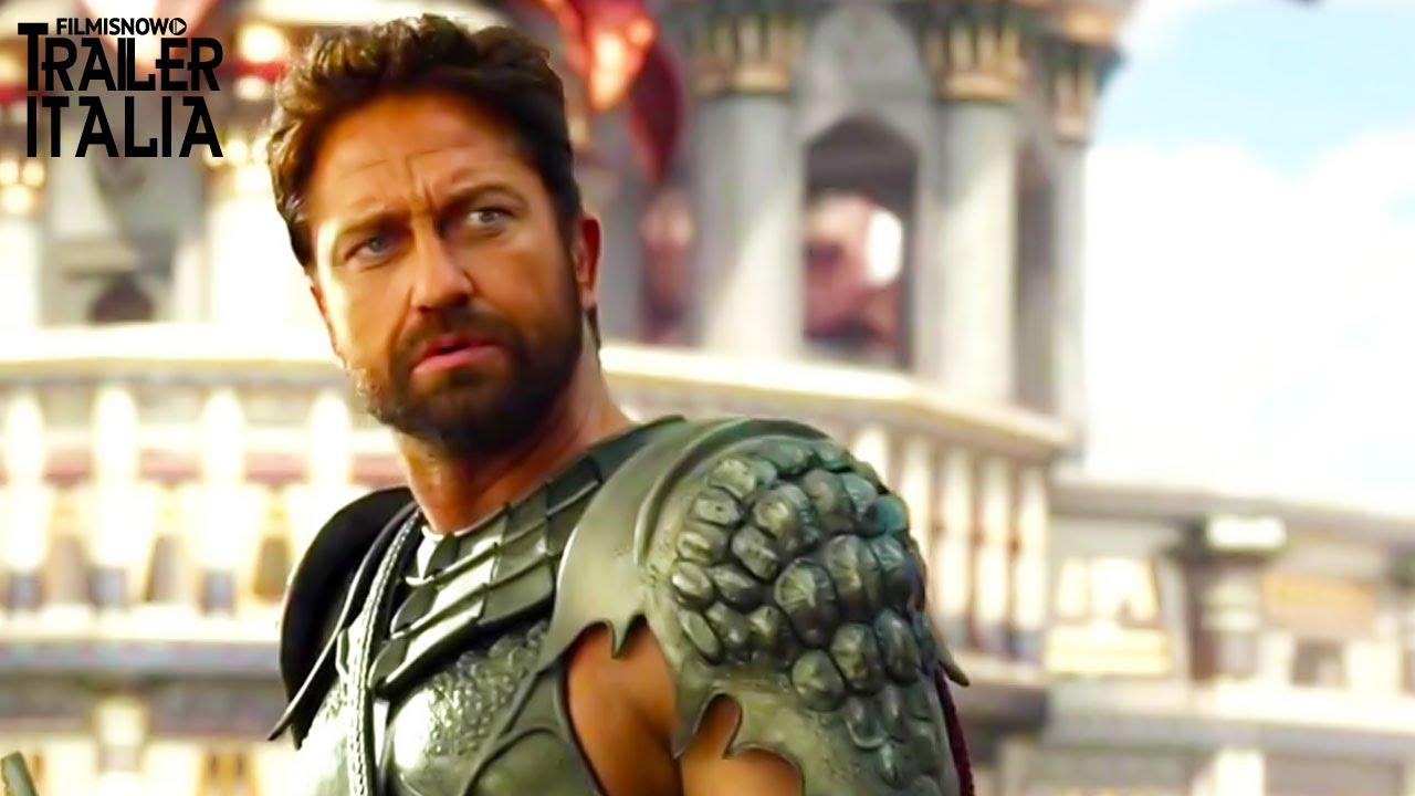 GODS OF EGYPT con Gerard Butler - Trailer italiano ufficiale [HD]