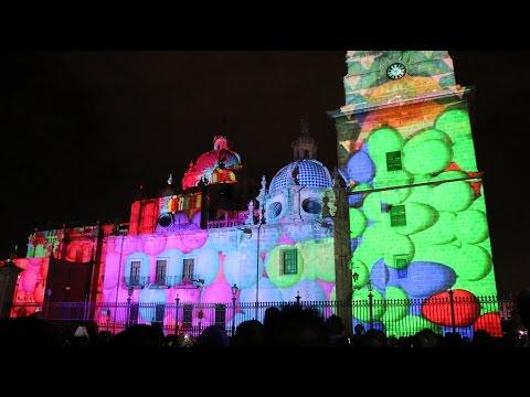 Festival Internacional de Música Mapping 3D  Morelia Completo