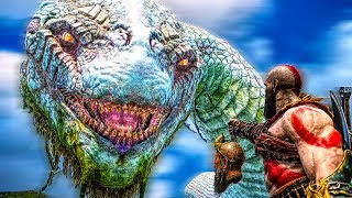 GOD OF WAR 4 All World Serpent Scenes (PS4 PRO 60FPS)