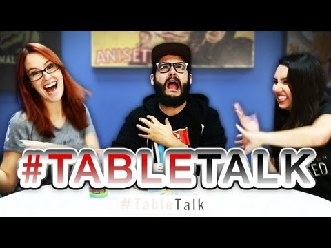 Sexy Toys, Shorts Shorts, and Eating BEAR on #TableTalk!