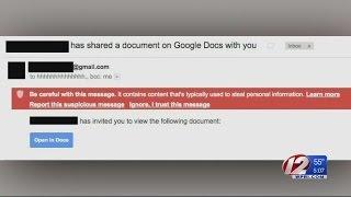 Google Warns of Google Docs Email Scheme