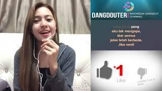 Sandiwara Cinta duet with babyshima karaoke bareng artis