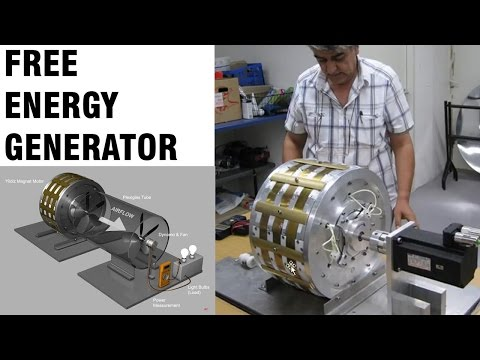 Free Energy Generator - Magnet Motor -