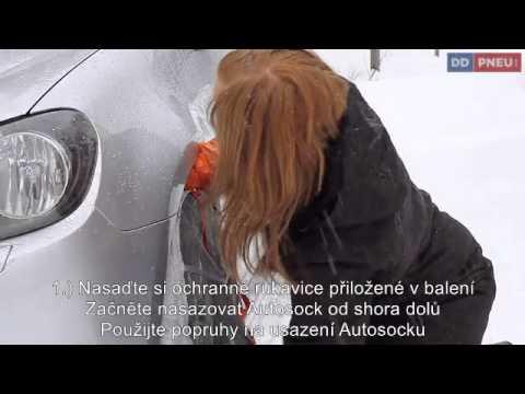 AutoSock – textilní sněhové řetězy pro osobní auta