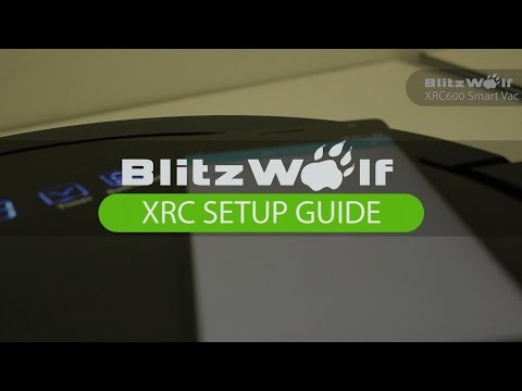 How to setup and connect the BlitzWolf XRC600 Blitz Clean App