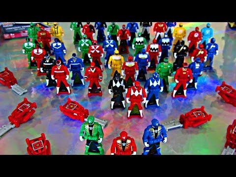 Every Ranger Key So Far! (Power Rangers Super Megaforce Toys)