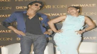 Dilwale Manma Emotion Jaage Song Launch | Shahrukh Khan And Kajol Funny Moment