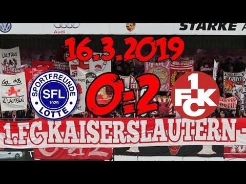 VfL Sportfreunde Lotte 0:2 1. FC Kaiserslautern - 16.3.2019 - Später Sieg