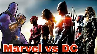 Marvel DC se jyada popular kyu hai | Why DCEU is not as successful as MCU | Marvel vs DC