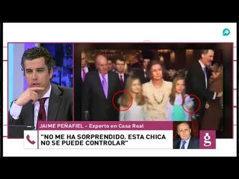 Peñafiel, de la reina Letizia: 'Esta chica no se puede controlar'