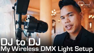 My Lighting Setup Explained! Wireless DMX Dongles!
