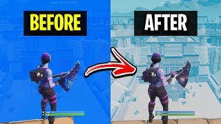 How To See Through The Storm In Fortnite (NEW METHOD)