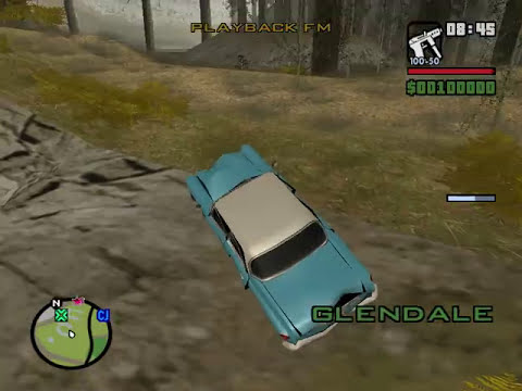GTA San Andreas Bigfoot + Ghost Car
