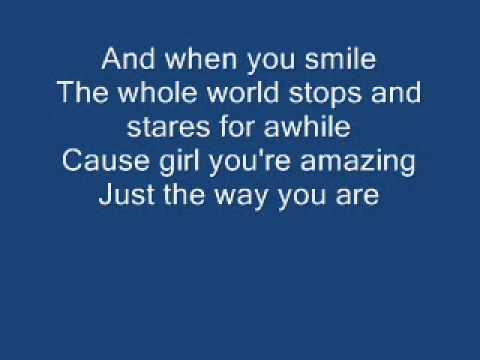 Bruno Mars - Just the way you areLyrics