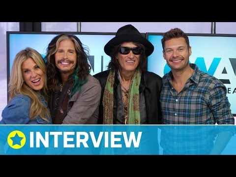 Aerosmith Announce New Tour I Interview I On Air with Ryan Seacrest