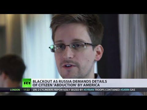 Swap deal for Snowden? Russian MP's son kidnapped by US security service