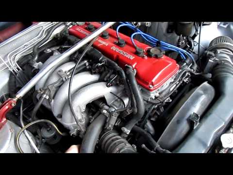 1990 Nissan 240sx KA24DE Start, Run, Walkaround