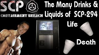 Many Drinks & Liquids of SCP 294 #2 - 6K Special  - SCP Containment Breach