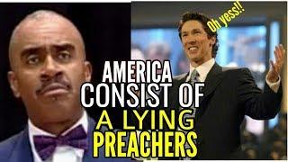 Gino Jennings   AMERICA CONSIST OF LYING PREACHERS!!