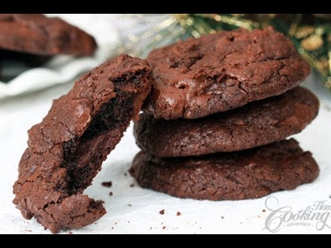 how to make choclate homemde cookies