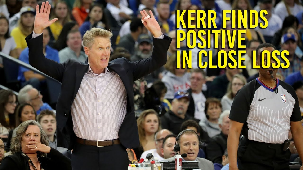 Kerr finds positive in Warriors loss to Pelicans