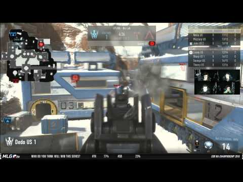 Team Kaliber vs Strictly Business   Game 3   WR2   North American Championships   Call of Duty Advan