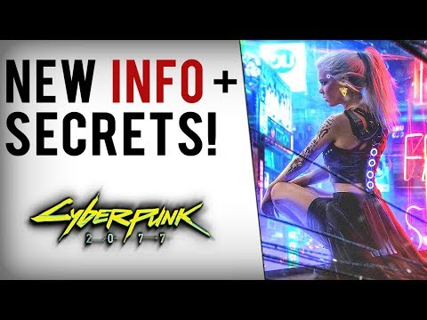 Cyberpunk 2077 - GAMEPLAY SECRETS & NEW INFO! Space Travel, Flying Vehicles, Romance, Skills & More!