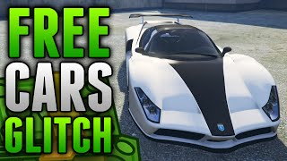 GTA 5 Glitches - FREE CARS GLITCH Online! How To Get Super Cars Free! Solo Method (GTA 5 Glitches)