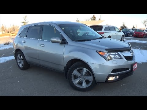 2012 Acura MDX Tech Package Review, Start up and Walkaround