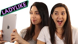 Women Try A Selfie App • Ladylike