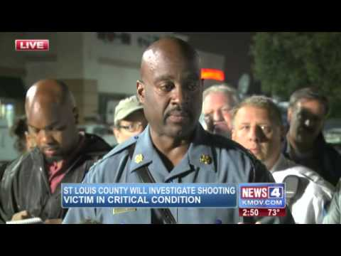 Protesters Ignore Ferguson, MO. Curfew. 1 Person Shot, 7 Arrested (8/17/2014)